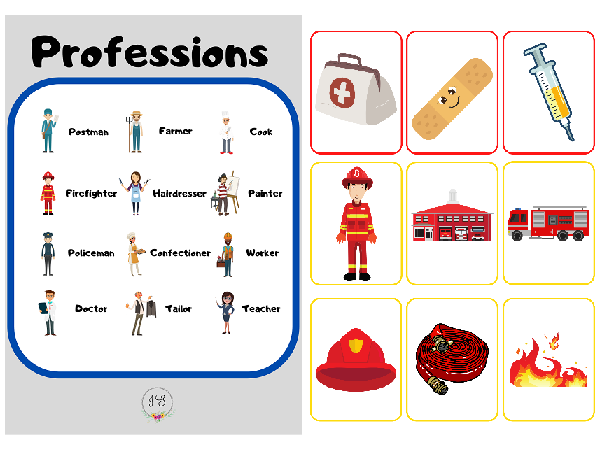 Professions - Assigning cards