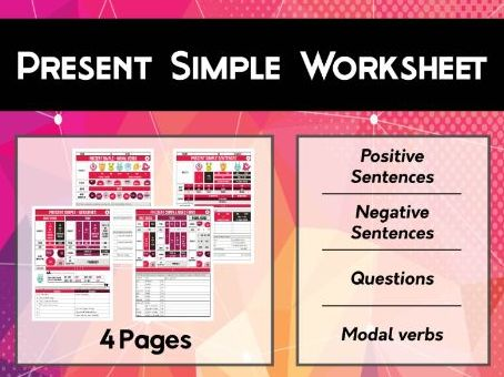 Present Simple Tense Workshee