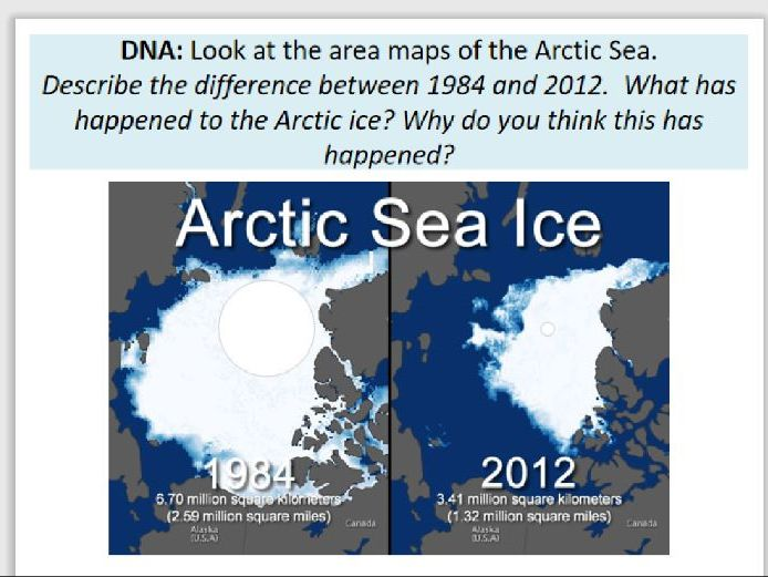 climate change and arctic sea ice decline
