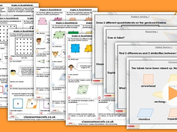 Year 5/6 Mixed Age Summer Block 3 Step 8 Maths Lesson Pack
