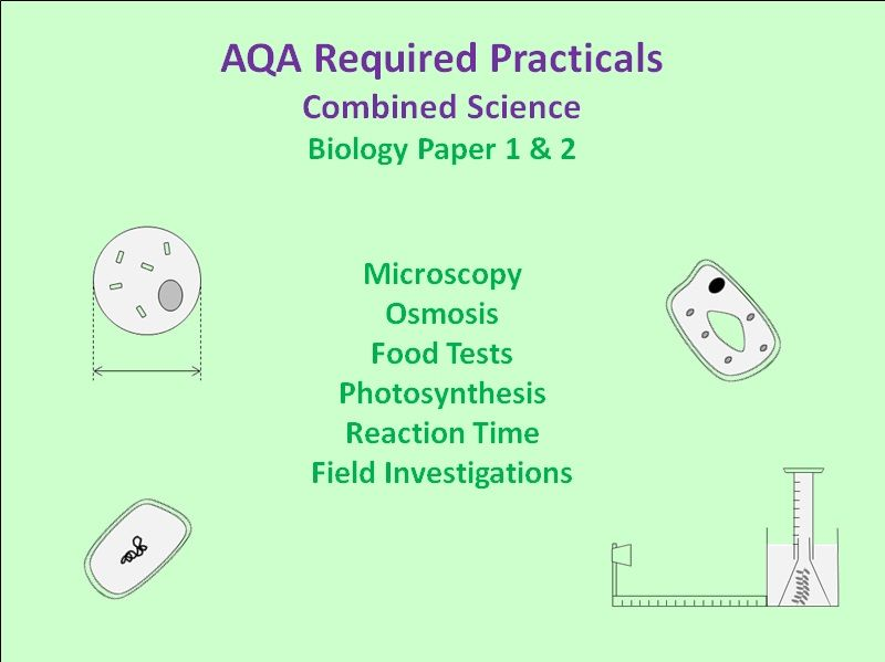 Required Practicals - AQA Combined Sci Biology