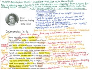 AQA Power and Conflict Poems - ANNOTATED