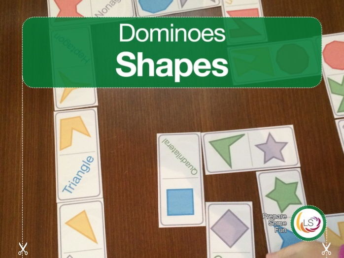 Shapes Dominoes Games