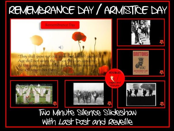 Two Minutes Silence -  Remembrance Day