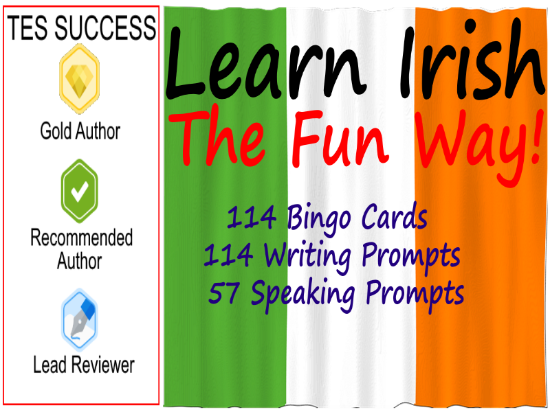 Irish Gaelic - Fun Way To Learn Bundle