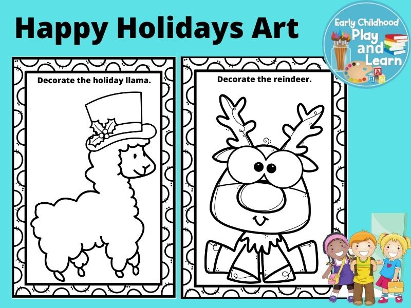 Happy Holidays Art US Version