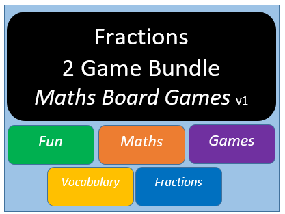 Fractions Bundle (Maths Board Games) v1