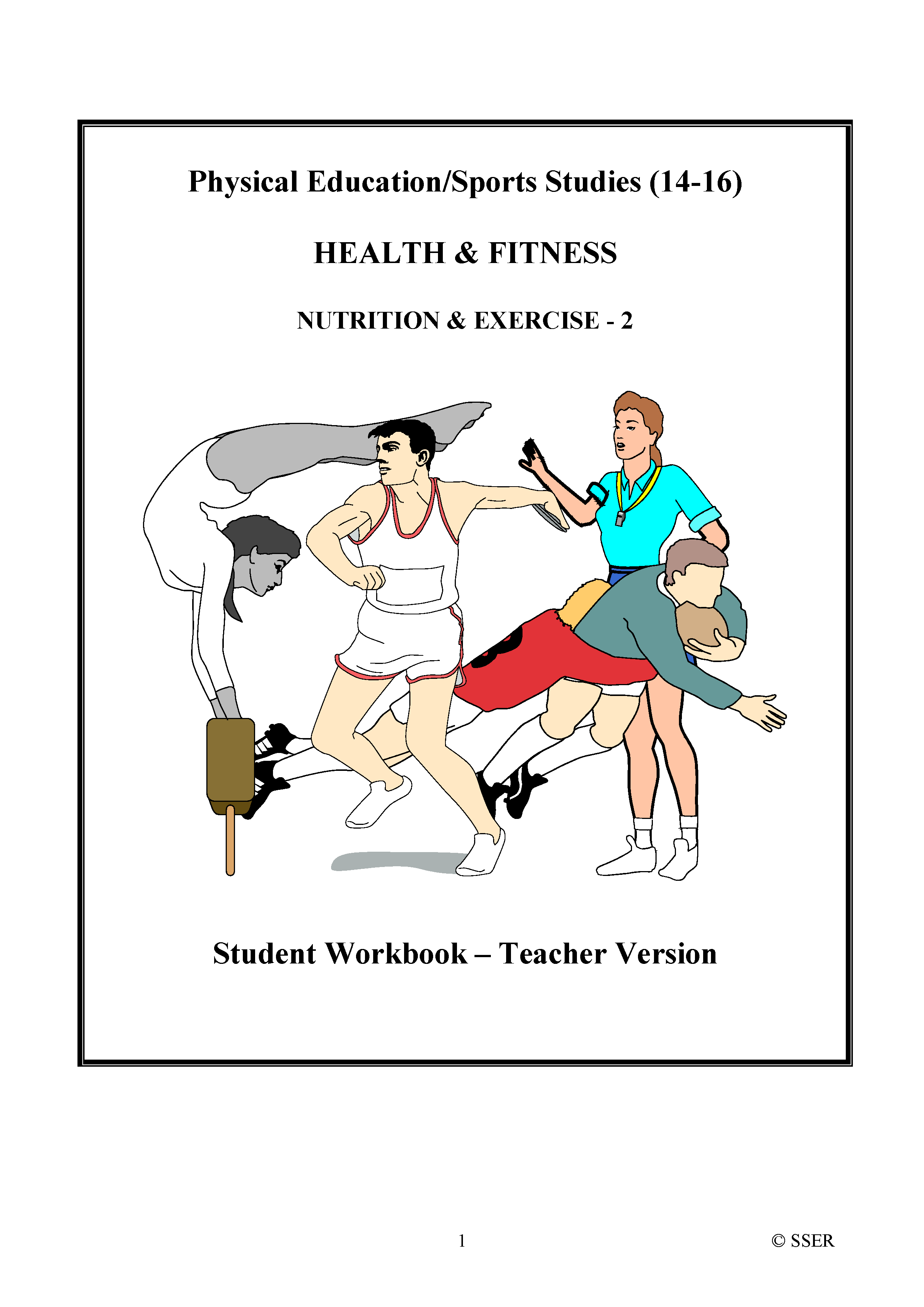 PE703ST - Nutrition & Exercise - 2 (Energy Balance & Special Diets) WS