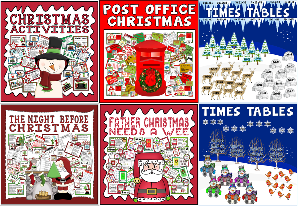 *BUNDLE* 5 CHRISTMAS RESOURCES