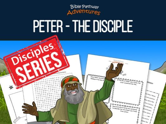 Peter: The Disciple Activity Book