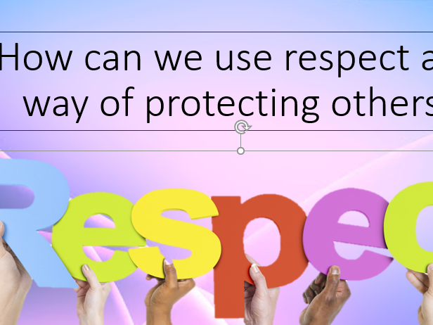 Respect to protected characteristics