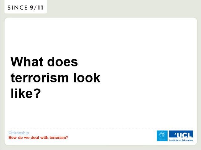 How do we deal with terrorism? - PowerPoint
