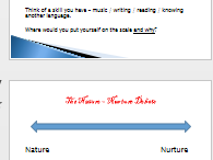 Intro to nature-nurture debate and qualitative and quantitative research methos