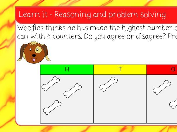 4. 100s, 10s, 1s (2) place value lesson pack