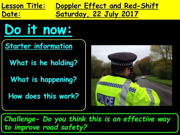 Doppler Effect and Red-shift: GCSE 9-1 Physics