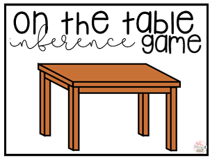 On the Table Inference Game