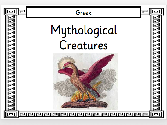 Greek Mythological Creatures