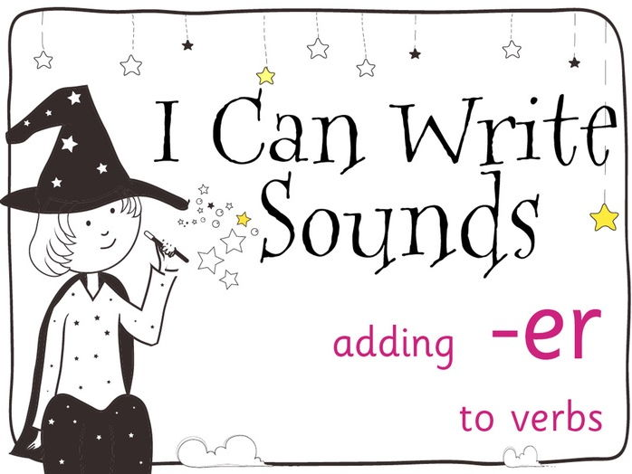 Magic Sounds Phonics Set 33 adding -er to verbs