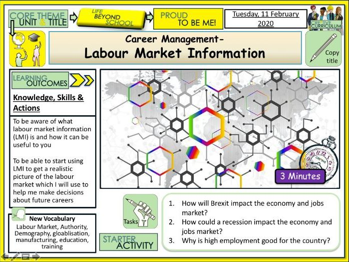 Labour Market Information - Careers