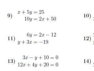 7 GCSE/IGCSE worksheets on straight lines