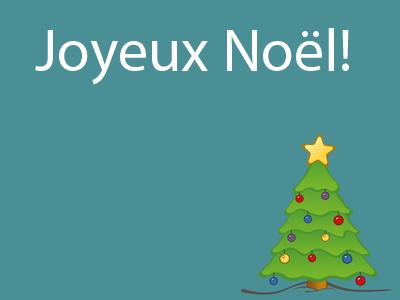 Joyeux Noël - French Christmas Activities