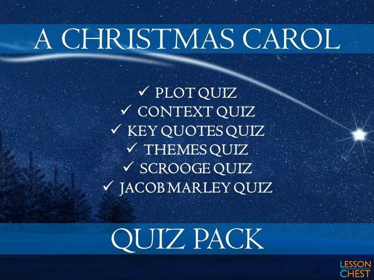 A Christmas Carol Quiz Collection