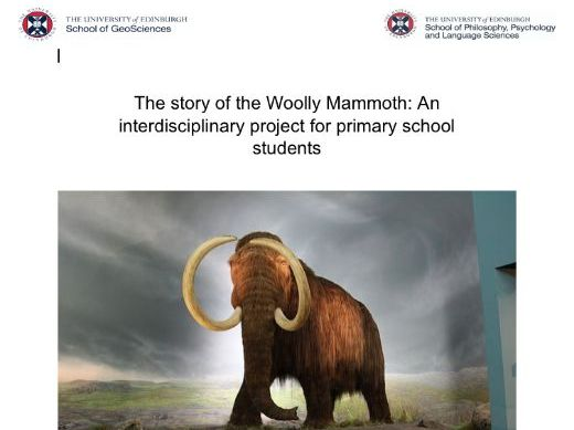 The story of the Woolly Mammoth: An interdisciplinary project for primary school students