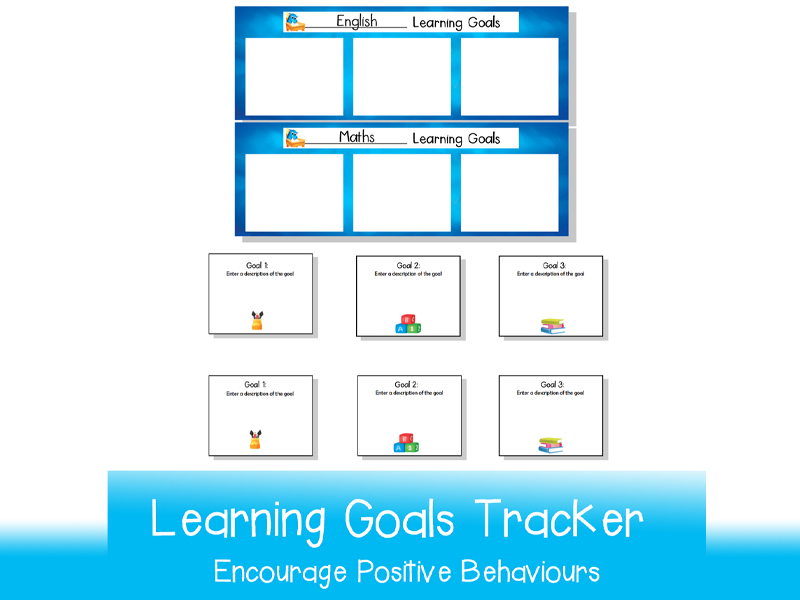 Learning Goals Tracker  | Printable
