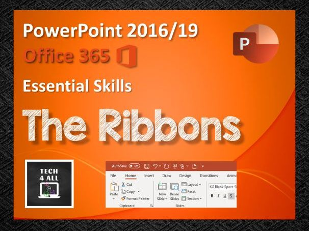 The Ribbons in PowerPoint