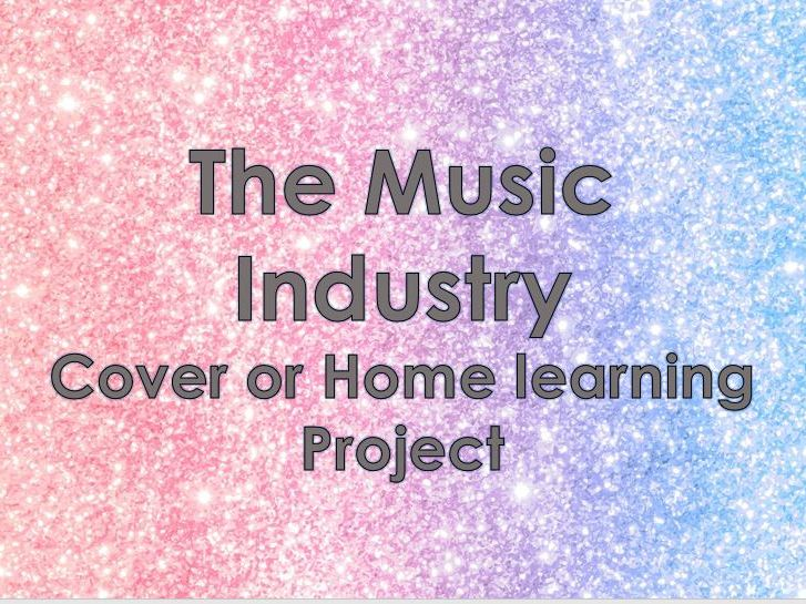 The Music Industry - Homelearning/Cover