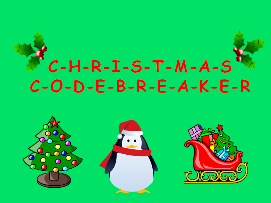 FREE Christmas Codebreaker activity!