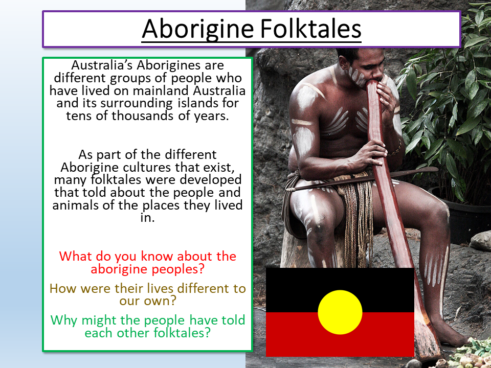 Myths and Legends Aborigine Stories