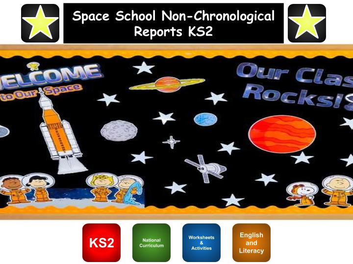 Space School Non-Chronological Report KS2