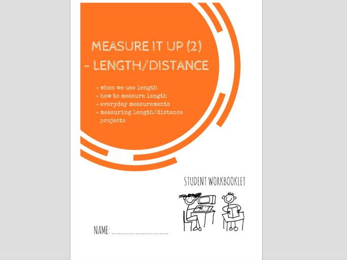 SPECIAL EDUCATION (NUMERACY) - MEASURE IT (2) - LENGTH AND DISTANCE workbooklet