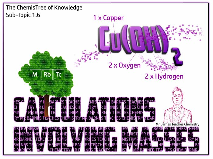Calculations involving Masses PowerPoint and Workbook - GCSE 2016
