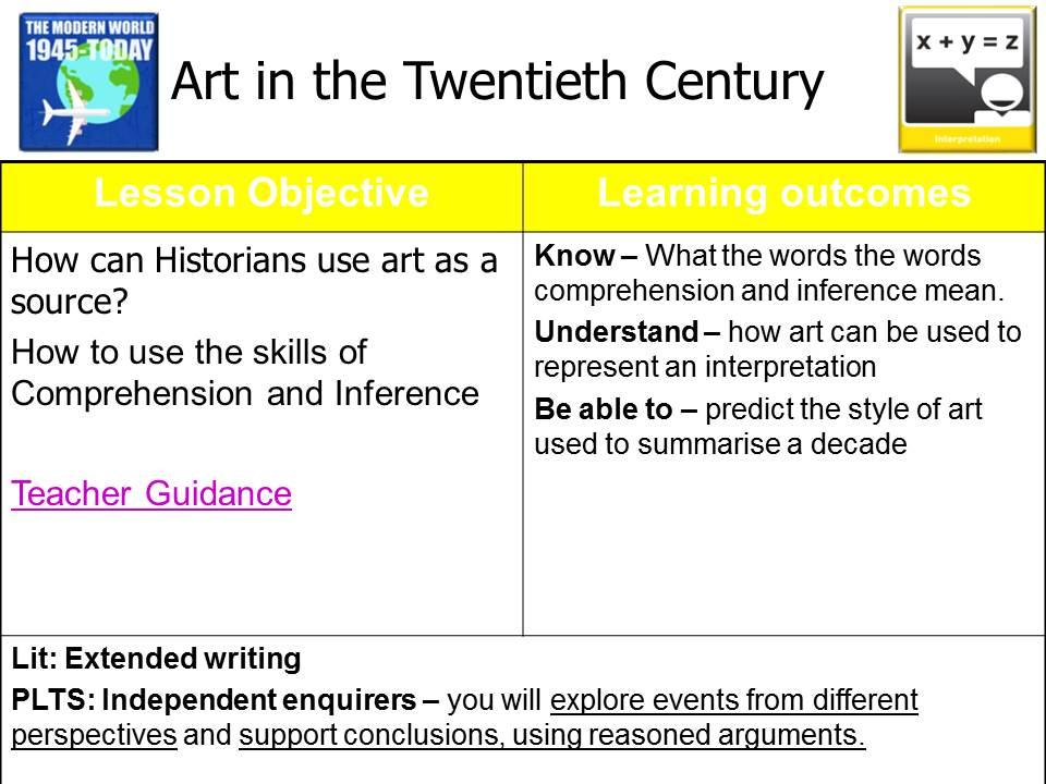 Twentieth Century Art - Full Lesson