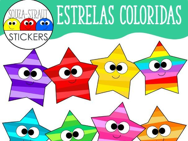 Estrelas Coloridas