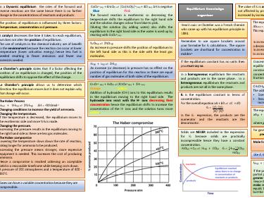 Equilibrium knowledge organiser