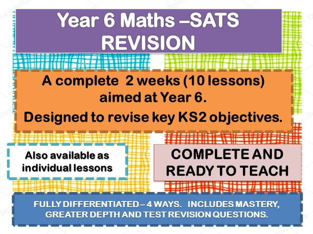YEAR 6 MATHS REVISION  10 DAYS OF COMPLETE LESSONS