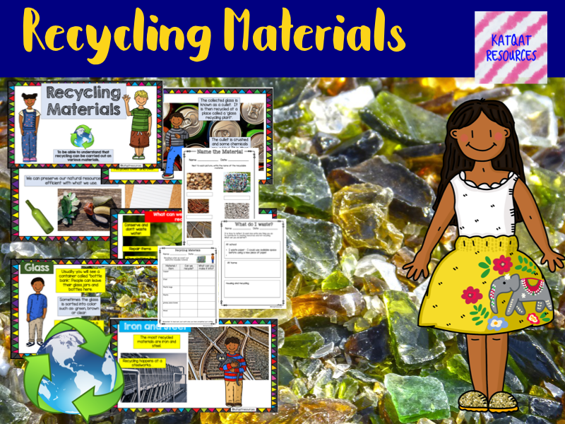 Recycling Materials - No Prep Lesson