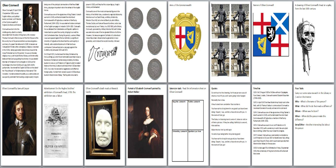 Oliver Cromwell Bundle