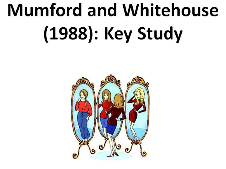 Mumford and Whitehouse Study on Eating Disorders - Clinical Psychology