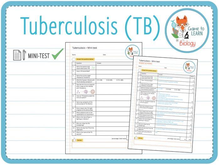 Tuberculosis (TB) - Mini-test (KS5)
