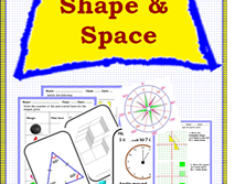 Shape & Space -Worksheet for Yr 4