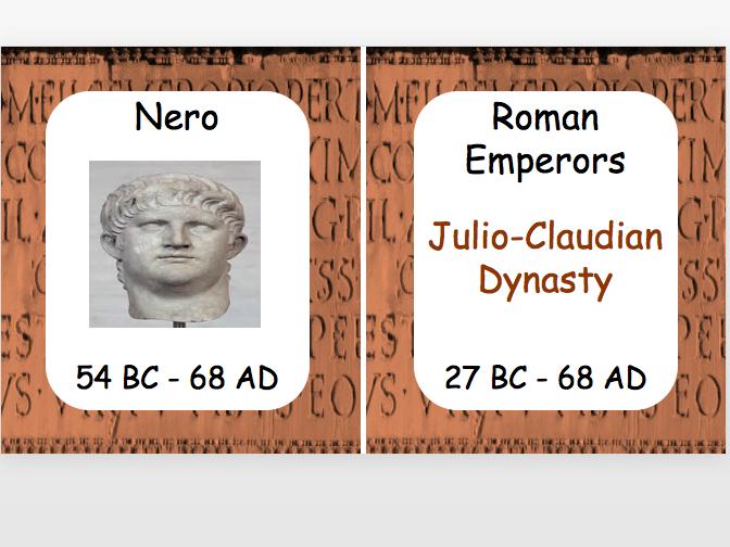 Roman Emperors: Julio-Claudian Dynasty
