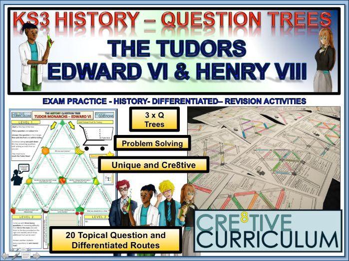 Tudors Henry VIII and Edward VI HIS/C8/TL/02