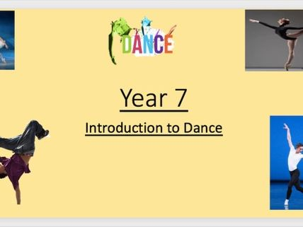 KS3 Introduction to Dance SOW