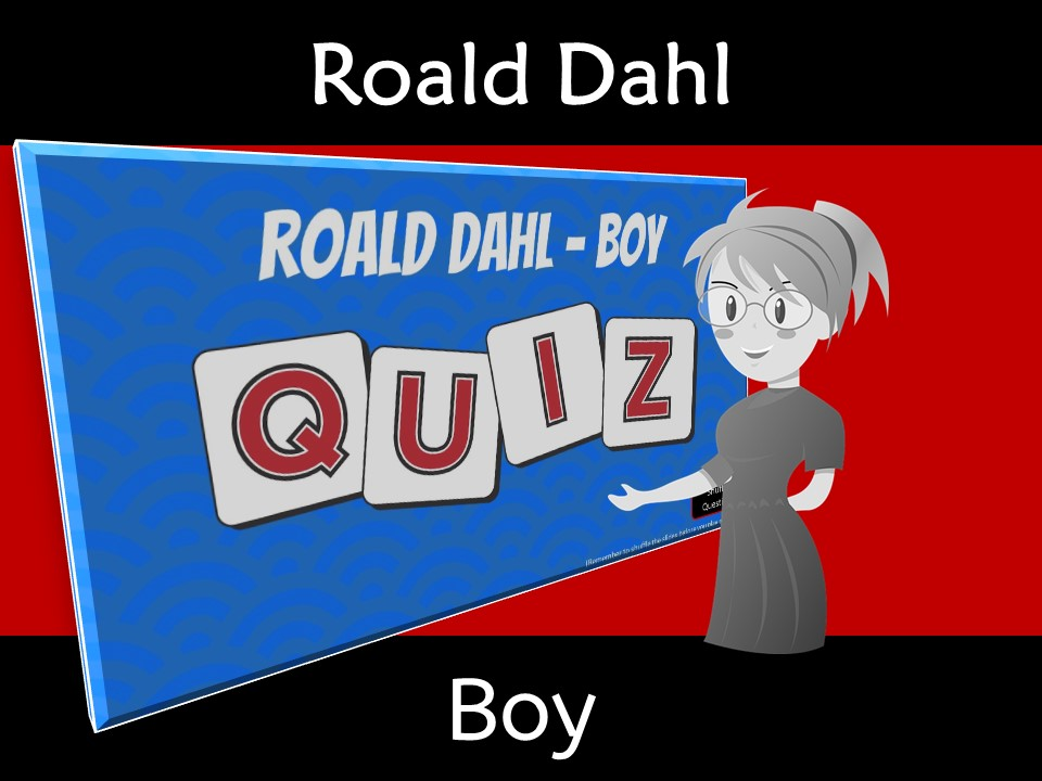 Boy by Roald Dahl Novel Study Review