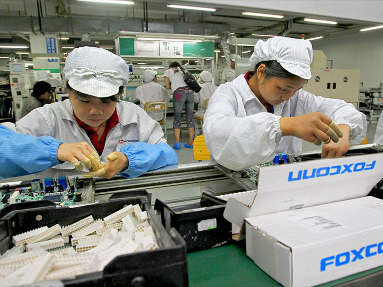 TNC's and China, Foxconn's Iphones, China's Sweatshops