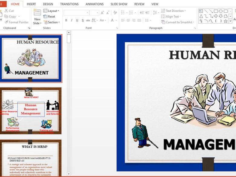 Human Resource Presentation